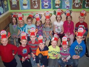 Gorham classroom students